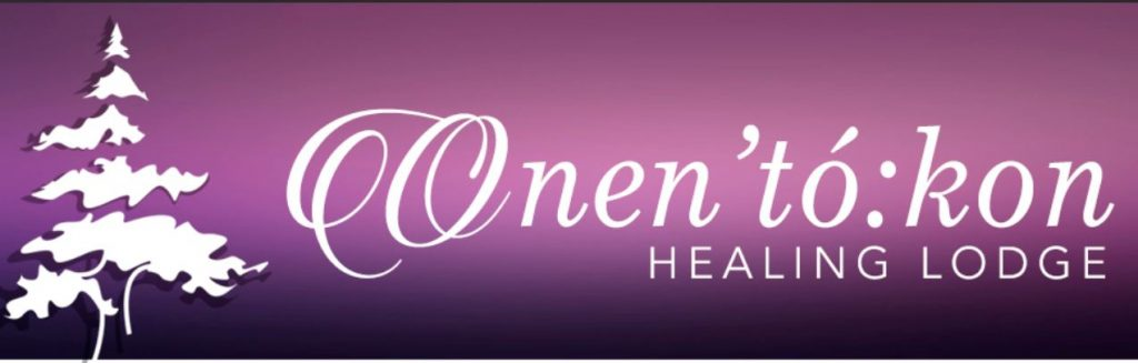 onen'to:kon healing lodge rehab logo